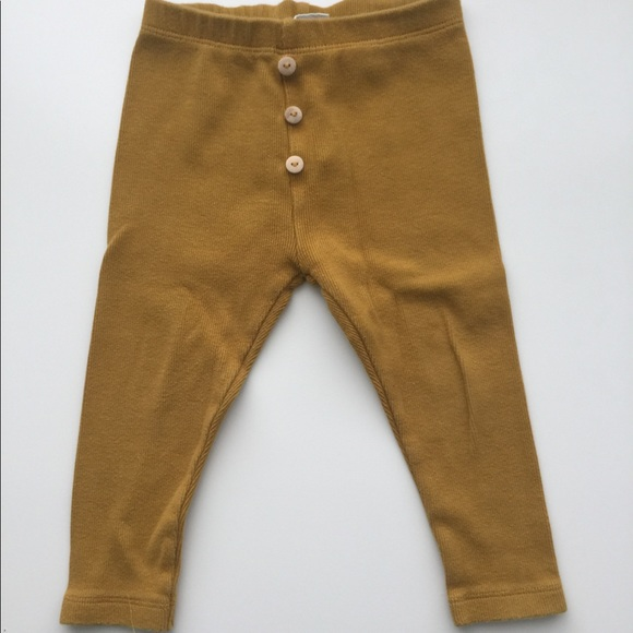 b15d58a2cabc3 Zara 18-24 mo baby girl ribbed leggings mustard. M_5b8c09bec89e1d28d8008610